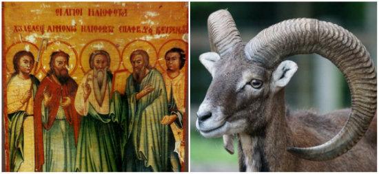 Οι Άγιοι Ηλιόφωτοι που «δημιούργησαν» τα αγρινά της Κύπρου