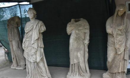 Έξι αγάλματα ηλικίας 2.000 ετών έφερε στο φως η αρχαιολογική σκαπάνη