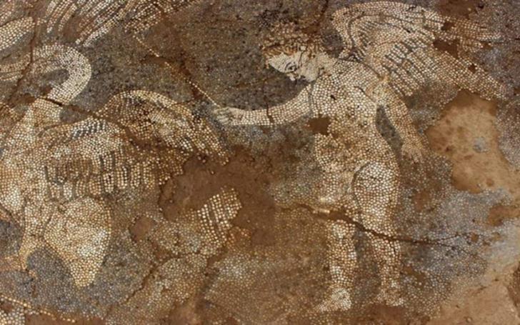 Ψηφιδωτό από τον 4ο π.Χ. αιώνα στην αρχαία Αμβρακία