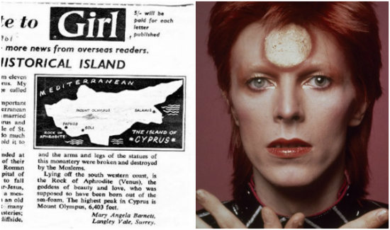 «Η Κύπρος είναι το νησί μου». Ο David Bowie, η Κύπρια σύζυγός του και οι δύσκολες στιγμές του '74