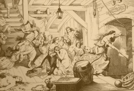 Η αιματοβαμμένη θυσία της Μαρίας Συγκλητικής