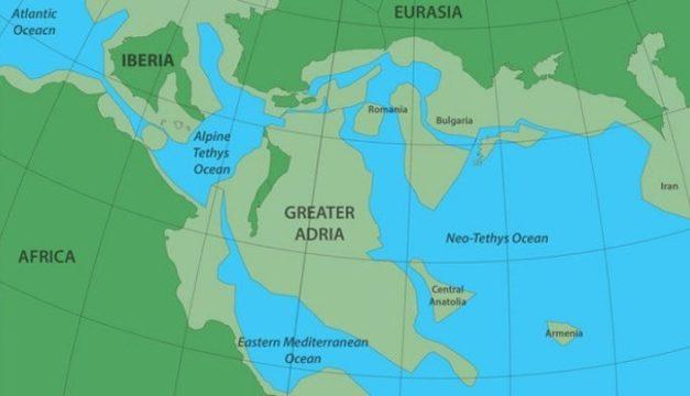 Μια πραγματική Ατλαντίδα: Η χαμένη ήπειρος Αδρία που είναι θαμμένη κάτω από τη νότια Ευρώπη
