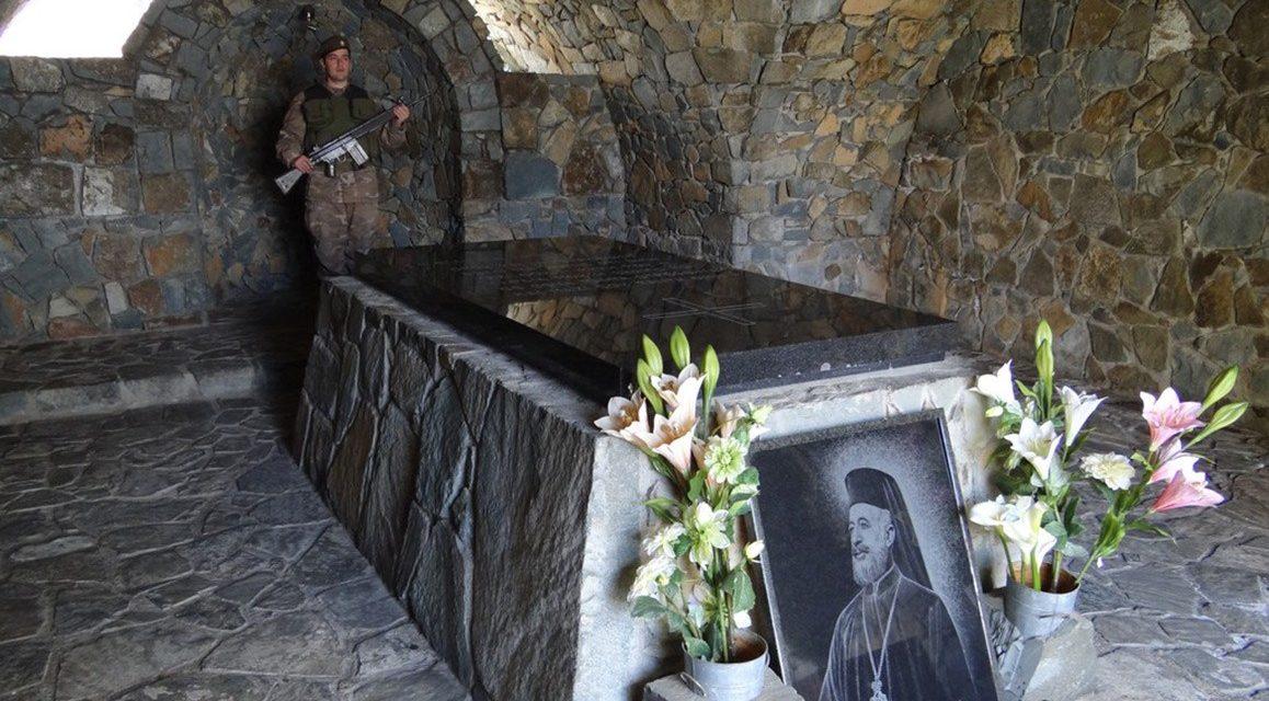 «Θέλω τον τάφο μου σ' ένα ύψωμα στον Κύκκο, για να βλέπω όλη την Κύπρο»