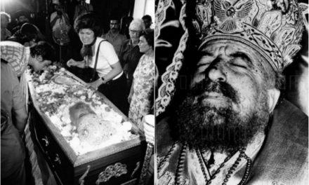 «Θρήνος κι οδυρμός στην κηδεία του Μακαρίου». Φωτογραφίες και βίντεο