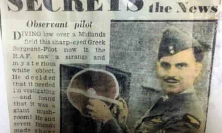 Η ιστορία του πιλότου της RAF που έσωσε τον Αυξεντίου