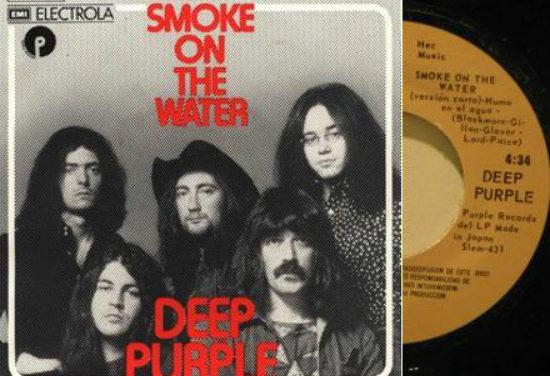 «Smoke on the water» – Το τραγούδι που γράφτηκε λόγω μιας πυρκαγιάς