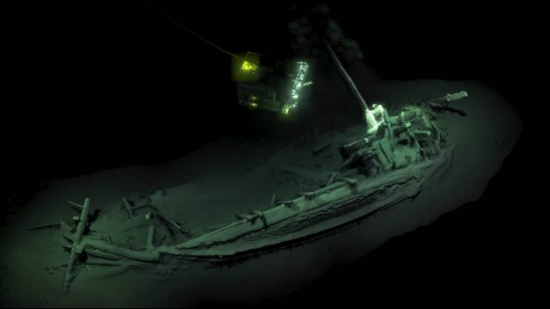 Tο αρχαιότερο άθικτο ναυάγιο στον κόσμο είναι ελληνικό και βρίσκεται στη Μαύρη Θάλασσα