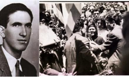 Ο «Γίγαντας» της ΕΟΚΑ, Στυλιανός Λένας. Η επεισοδιακή κηδεία, η ομιλία της μητέρας του και τα Φυλακισμένα Μνήματα