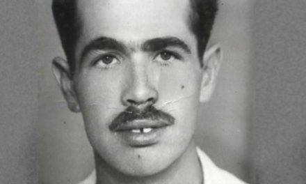 Η μοναδική έγχρωμη φωτογραφία του Γρηγόρη Αυξεντίου