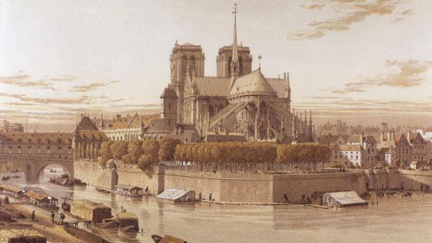Η συναρπαστική ιστορία της Παναγίας των Παρισίων