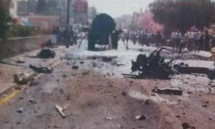 Σκηνές φρίκης από την τρομοκρατική επίθεση που έγινε στην καρδιά της Λευκωσίας
